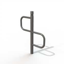Support vélos 2 places design - Tête 2 gorges