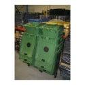 Conteneur verre 140L 2 roues