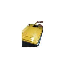Poubelle emballages 120L 2 roues
