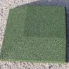 Angle de bordure de sol amortissant biaisé 25x25 cm